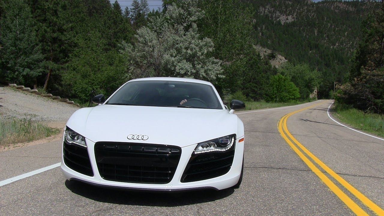 2012 audi r8 5 2 v10 quattro 0 60 mph mile high performance test youtube. Black Bedroom Furniture Sets. Home Design Ideas
