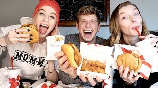 CHICK FIL A MUKBANG W/ MATT KING!!
