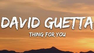 David Guetta & Martin Solveig - Thing For You (Lyrics)