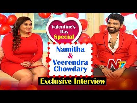 Valentine Special: Namitha and Veerendra's exclusive