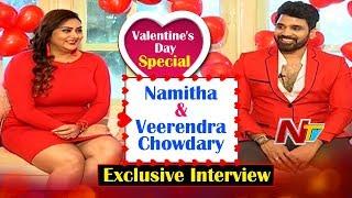 Valentine Special: Namitha and Veerendra's exclusive..