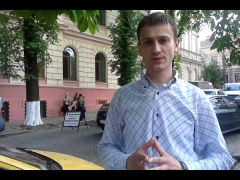 Петро Олексюк - дороги Чернівців