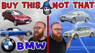 The CAR WIZARD shares the top BMW's TO Buy & NOT to Buy!