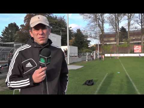 Gody Hoedoafia (SC Victoria Hamburg II) und Liborio Mazzagatti (Teutonia 05) - Die Stimmen zum Spiel (SC Victoria Hamburg II - Teutonia 05, Landesliga Hammonia) | ELBKICK.TV