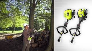 Video: 2 Cycle Full Crank Curved Shaft String Trimmer