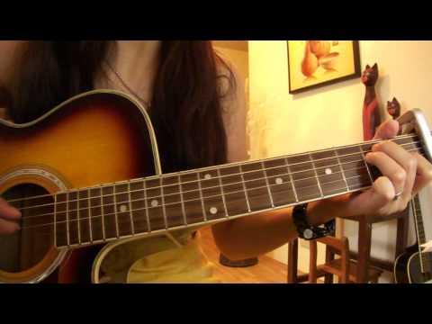 梁靜茹 可惜不是你 guitar