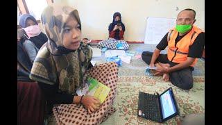 LUAR BIASA Tukang Ojek Ini Pasang Wifi Gratis untuk Sekolah Online