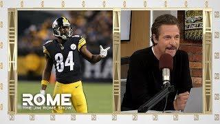 Antonio Brown DENIES Trade to Buffalo | The Jim Rome Show