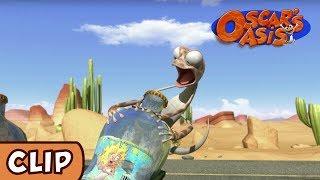 Oscar's Oasis - Lizard in Trouble | HQ | Funny Cartoons