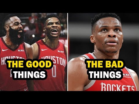 Grading the Russell Westbrook & James Harden Houston Rockets Duo