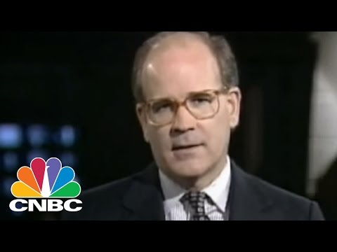 CNBC's inaugural broadcast - April 17, 1989