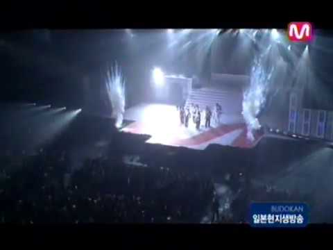 The Way U Are + Rising Sun - DBSK Mnet M!Countdown in Japan 20060415
