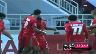 هدف لخويا الاول يوسف المساكني - لخويا vs الوكرة - دوري نجوم قطر