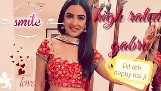 Dil toh happy hai ji, happy funny, whatsapp status video, high rated gabru song, starplus serial,