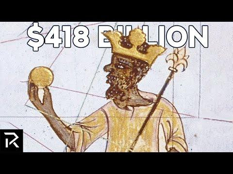 """""""Тежел"""" неверојатни 418 милијарди - кој е најбогатиот човек во историјата на човештвото?"""