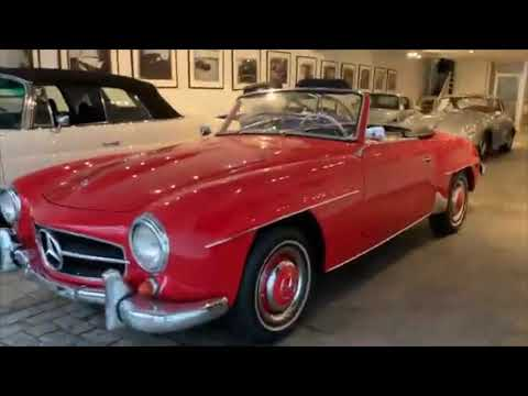 video 1961 Mercedes-Benz 190SL