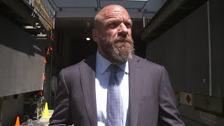 Triple H expects The Undertaker won't go down without a fight: Exclusive, Oct. 6, 2018