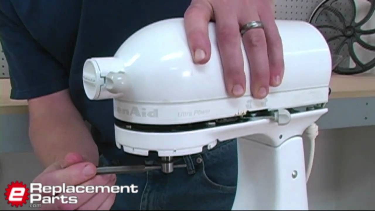 How To Fix A Kitchenaid Mixer That Isn T Spinning Youtube