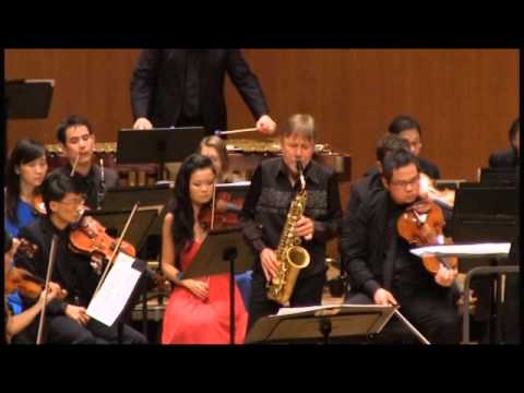 Piazzolla Six Tango Etudes (3 & 4) Claude Delangle & City Chamber Orchestra of Hong Kong
