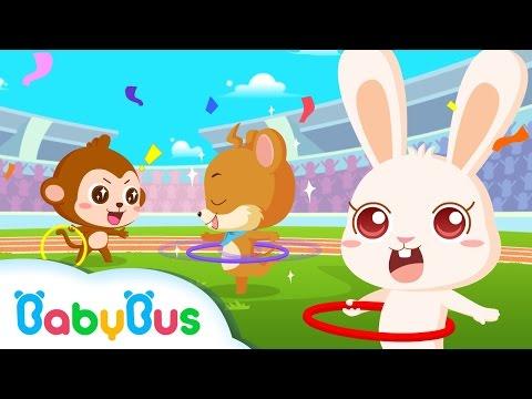 훌라후프 동물운동회|운동회 시리즈동화|베이비버스 유아동화|좋은습관 생활동화