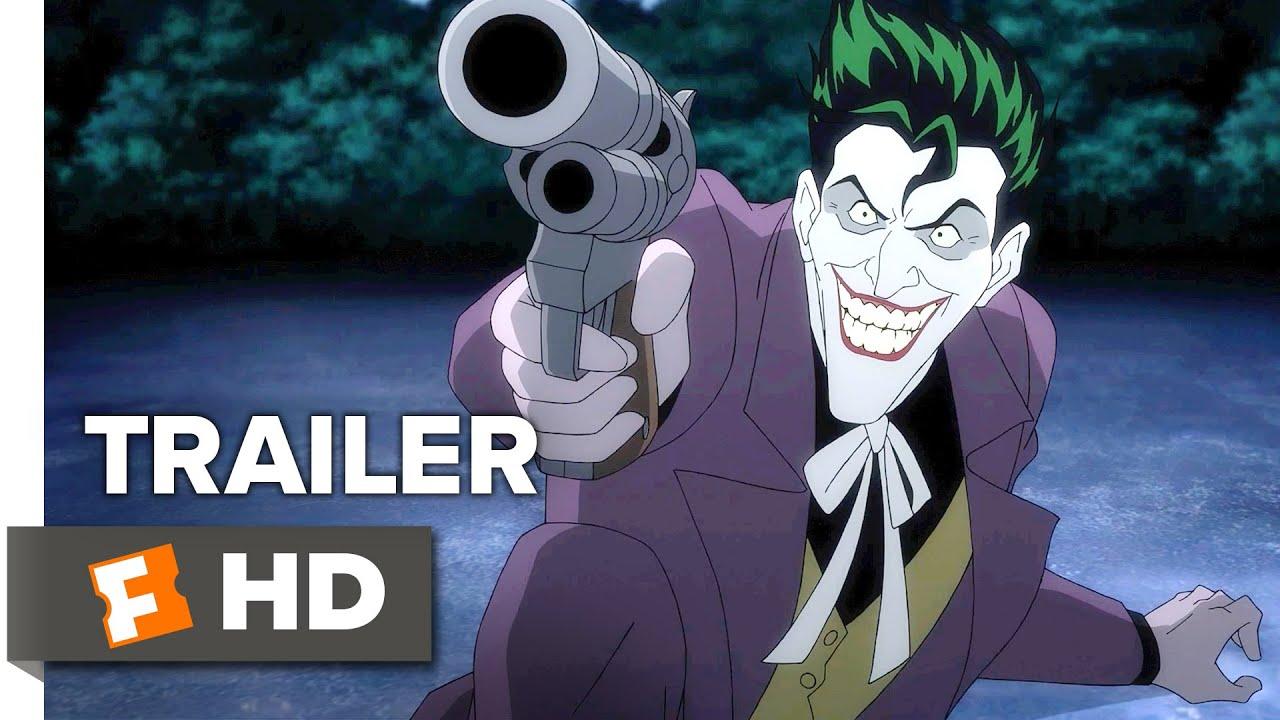 Батман: Убийствената шега (2016) Трейлър