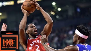 Toronto Raptors vs Philadelphia Sixers Full Game Highlights | 12.05.2018, NBA Season