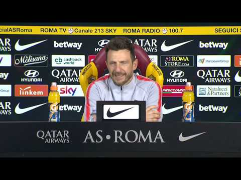VIDEO - La conferenza di Di Francesco: