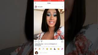 Cardi B Rants Over Government Shut Down And Accidentally Exposes Rappers As Government Workers???😱😱😱