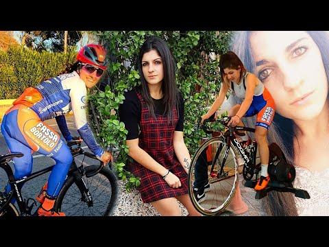 "Debora Silvestri a ""Cicliste in streaming"""