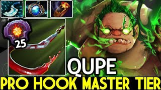 Qupe [Pudge] Pro Hook Master Tier 25 Best Support Roaming 7.21 Dota 2