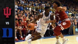 Indiana vs. Duke Basketball Highlights (2018-19)