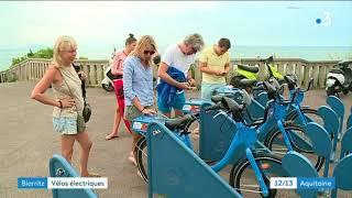 Des vélos électriques en libre-service à Biarritz
