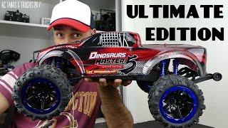 REMO HOBBY 1/8 4WD Brushless Monster Truck 8036 ULTIMATE EDITION - Unboxing & First Look