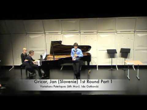 Gricar, Jan (Slovenie) 1st Round Part 1