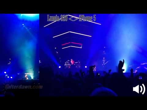 Lumia 920 vs iPhone 5: Muse - Knights of Cydonia (Live in Helsinki)