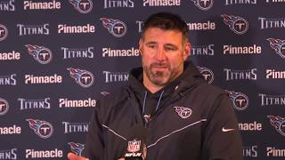 Watch #Titans Head Coach Mike Vrabel's post-game press conference following #TENvsNYG