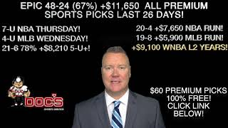 MLB PICKS 05/22/19. HOT 19-8 +$5900 MLB PREDICTIONS RUN BY SPORTS BETTING EXPERT VERNON CROY