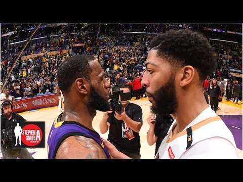 Anthony Davis' desire to join Lakers grew after NBA Finals - Brian Windhorst   Stephen A. Smith Show