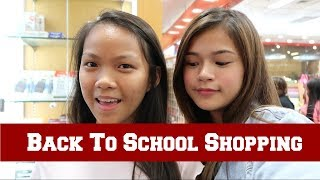 Back To School Shopping With My Sister | Maris Racal