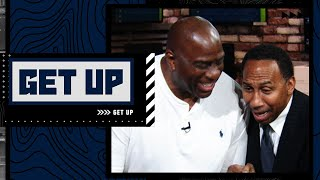 Stephen A. crashes Magic Johnson's segment to debate LeBron and the Lakers | Get Up