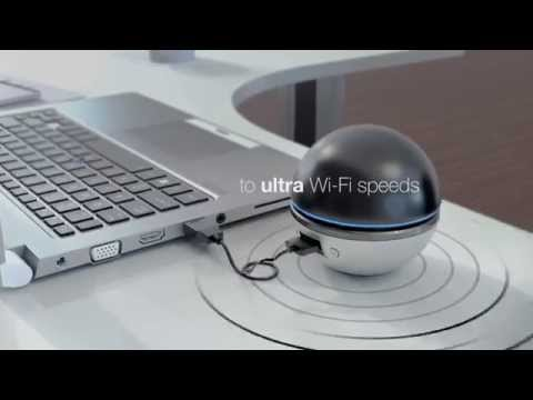 The AC1900 Ultra Wi-Fi USB Adapter (DWA-192) lets you upgrade your desktop or laptop to the latest generation wireless AC speeds, so you can easily stream HD media, download music, and enjoy high-speed online gaming. For more information visit https://us.dlink.com/products/connect/...