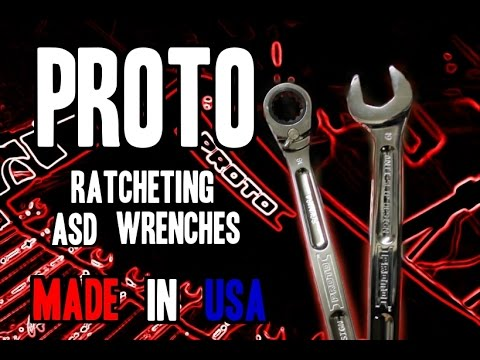 Baixar Proto ASD Ratcheting Spline Combination Wrenches - MADE IN USA