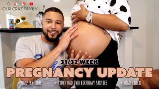 Pregnancy Update + Nursery Tour