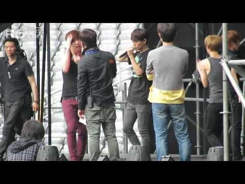 [FANCAM] 120914 EXO-M Rehearsal-Angel
