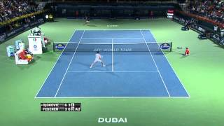 Federer To Face Berdych In Final Of Dubai Duty Free Tennis Championships