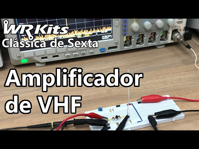 AMPLIFICADOR DE VHF   Vídeo Aula #380