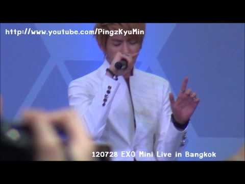 [FANCAM] 120728 EXO Mini Live in Bangkok - Two Moons [ Kris Focus ]