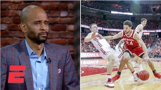 Wisconsin basketball player taking charges fires everyone up | ESPN Voices