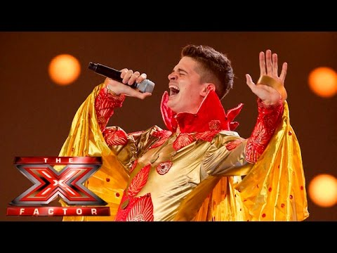 Papasidero covers Lady Marmalade | 6 Chair Challenge | The X Factor UK 2015