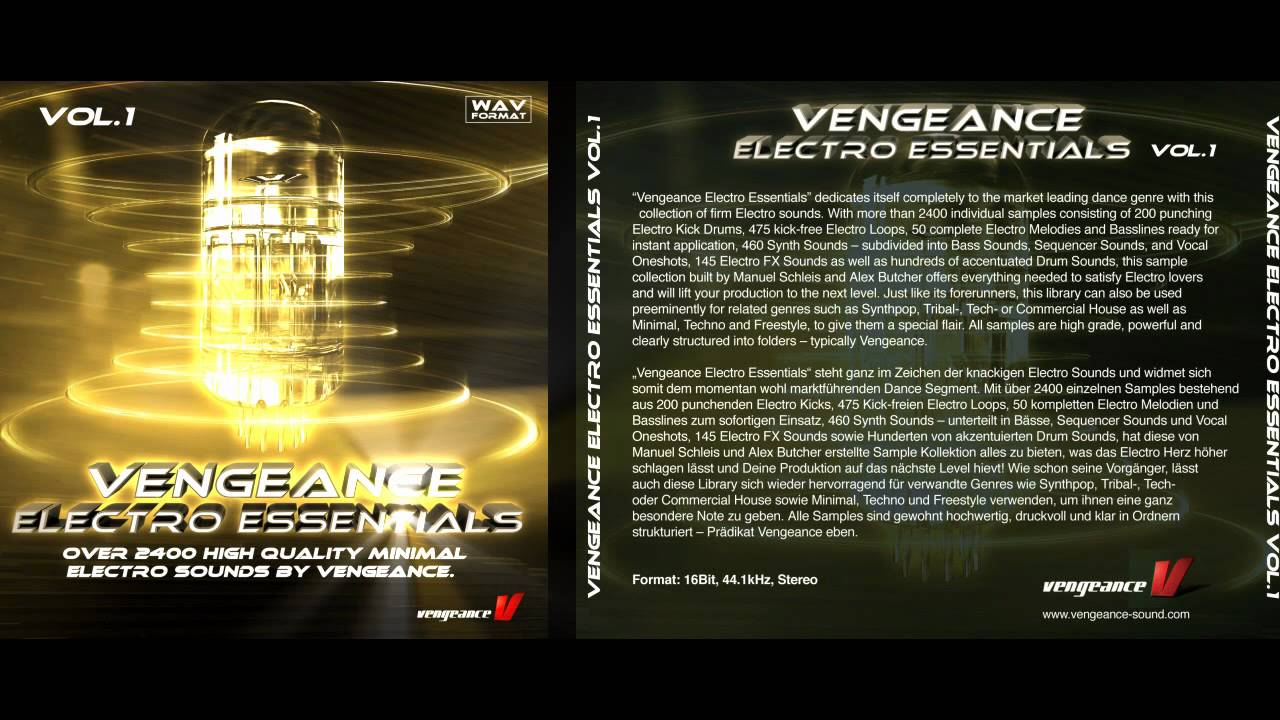 vengeance electro essentials
